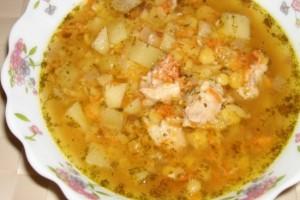 Гороховый суп в мультиварке – рецепт с беконом и зажаркой