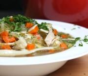 Куриный суп в мультиварке, готовим с вермишелью и зеленью. Пошаговый рецепт с фото.