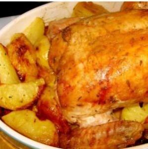 запеченная курица в мультиварке поларис рецепты