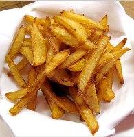 готовка картошки фри