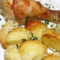 запеченная картошка в мультиварке редмонд