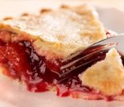 Очень легкие рецепты с фото приготовления пирога с вишней в мультиварках.