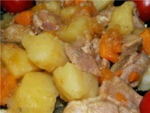 Для мультиварок редмонд из картошки и курицы