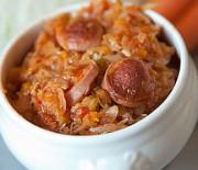 Готовим вкусную тушеную капусту с сосисками в мультиварке Редмонд и Поларис. Пошаговые рецепты с фото.