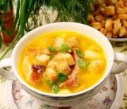 Пошаговые рецепты с фото для приготовления сытного горохового супа с копченостями в мультиварках Редмонд и Поларис.